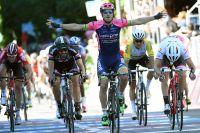 Deuxième victoire d'étape pour Sacha Modolo sur le Giro