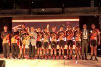 L'équipe San Luis Somos Todos au Tour de San Luis