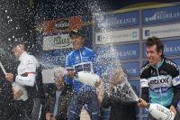 Le podium de Tirreno-Adriatico 2015