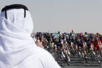 Quelques spectateurs sur le Tour de Dubai