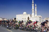 Décor typique du Tour de Dubaï