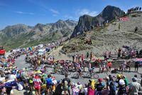 Le Tour de France au sommet du Tourmalet