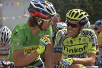 Peter Sagan et Alberto Contador complices