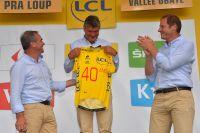 Les 40 ans du maillot jaune de Bernard Thévénet célébrés à Pra-Loup