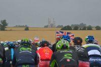 Le drapeau britannique flotte sur le Tour
