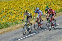 Wilco Kelderman emmène l'échappée avec Alexandre Geniez, Thomas De Gendt et Cyril Gautier