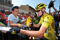 Chris Froome populaire