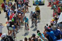 Vincenzo Nibali et Geraint Thomas font le train dans le Glandon