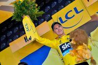 Chris Froome retrouve le maillot jaune