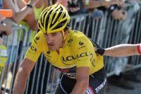 Impliqué dans la chute, Fabian Cancellara finit comme il le peut
