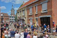 Serge Pauwels montre le chemin sur les routes belges