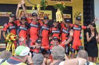 Les BMC vainqueurs du chrono par équipes
