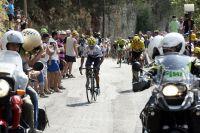 Nairo Quintana et Chris Froome attaque le Maillot Jaune