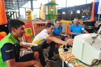Alberto Contador règle le poste