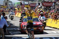 Chris Froome vainqueur à La Pierre-Saint-Martin