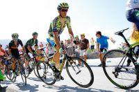 Alberto Contador en difficulté