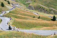 Le Tour de France dans le col d'Allos