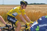 Tony Martin en jaune