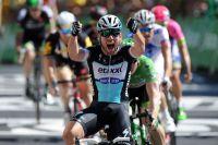 Mark Cavendish triomphe au sprint