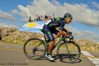 Nairo Quintana souffre en direction du Cerro Amago