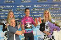 Richie Porte, leader du Tour du Trentin