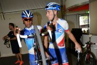 Sébastien Chavanel prend Lorenzo Manzin sous son aile