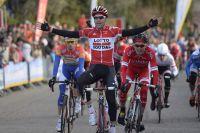 Première victoire de l'année pour Tony Gallopin au Mur de Laudun