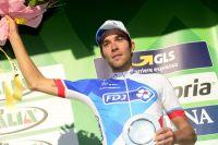 Thibaut Pinot monte sur le podium du Tour de Lombardie