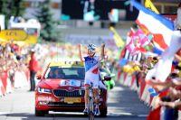 Thibaut Pinot triomphe à l'Alpe d'Huez