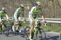 Ivan Basso travaille pour Alberto Contador