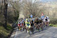 Le peloton de Tirreno-Adriatico
