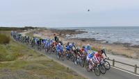 Le peloton du Tour de Vendée