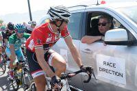 Fabian Cancellara discute avec Eddy Merckx
