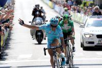 Victoire de Paolo Tiralongo à Cles