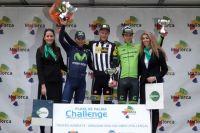 Alejandro Valverde, Steve Cummings et Davide Formolo sur le podium du Trophée Andratx