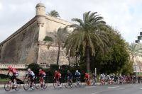 Le peloton du Challenge de Majorque
