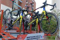 Les vélos Look de Bretagne-Séché Environnement sont bien arrivés en Argentine