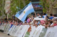 Le drapeau argentin flotte sur le Tour de San Luis