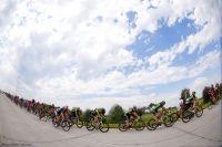 Le peloton du Tour de San Luis