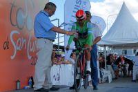 Le leader du classement des sprints Leandro Messineo