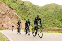 Nairo Quintana à l'entraînement dans les montagnes argentines