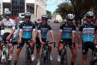 L'équipe Etixx-Quick Step avec Michal Kwiatkowski et Mark Cavendish