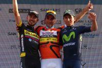 Fabio Torres, Dani Diaz et Nairo Quintana