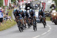 Le Team Sky fait jeu égal avec les BMC mais se perdra dans Cadoudal