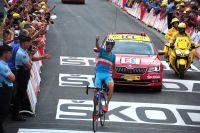 Passé à l'attaque dans le col du Glandon, Vincenzo Nibali s'impose à la Toussuire