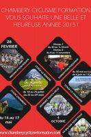 Les voeux du Chambéry Cyclisme Formation