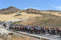 Le peloton de la Vuelta au coeur de l'Andalousie