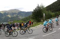 Les Astana tirent le peloton en Andorre