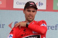 Tom Dumoulin en rouge