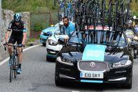 Chris Froome craque sur la Vuelta